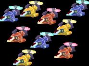 Colorful Copter Fleet KHX