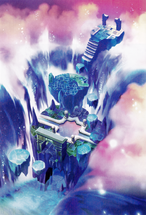 Hollow Bastion- Rising Falls (Art) KH