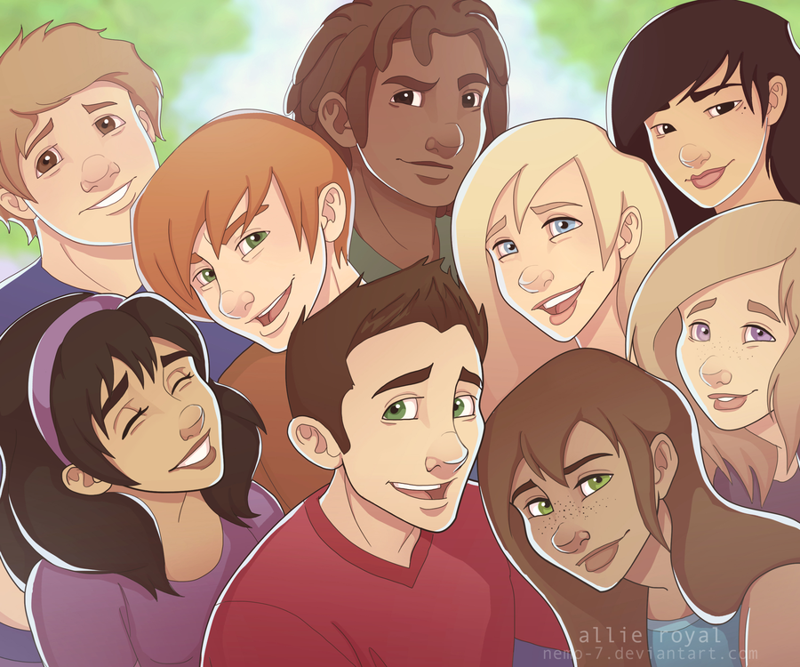 Kingdom Keepers Characters We are keepers by nemo 7-