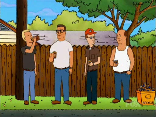 Hank Hill Characters Boomhauer With Hank Hill