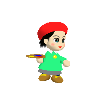 Artwort de Adeleine en Kirby 64