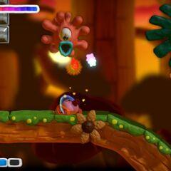 Tanque Kirby le dispara a Sportle.