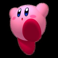 Kirby saltando.