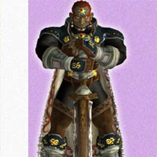 Artwork de Ganondorf en <a href=