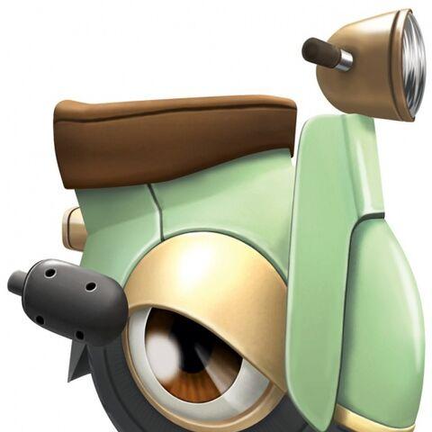 Wheelie Scooter en <a href=