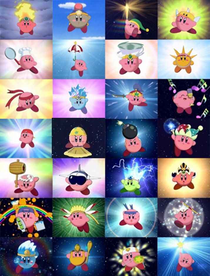 Kirby Powers List