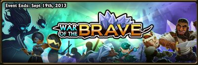War of the Brave Banner