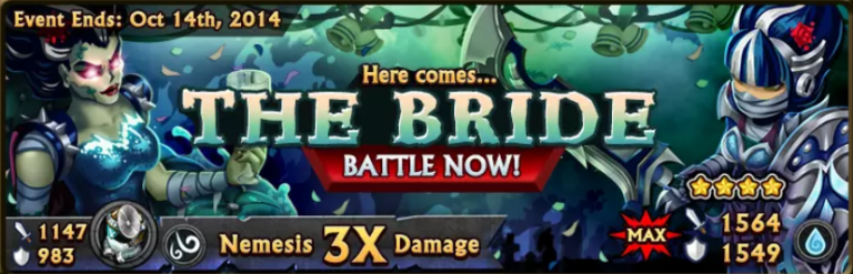 The Bride Banner
