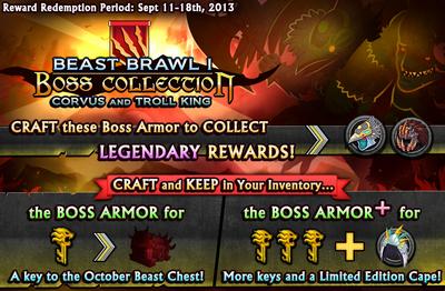 Beast Brawl 1 Boss Collection