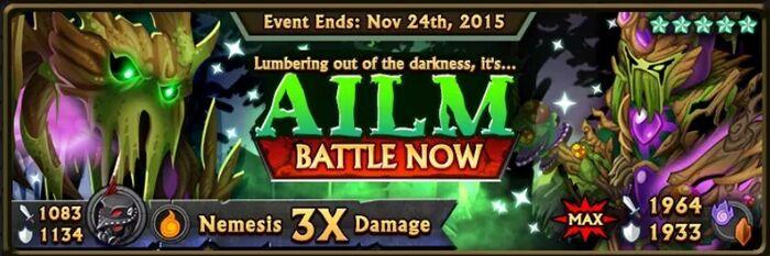 Ailm Boss Banner
