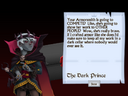 Fourth Letter from the Dark Prince