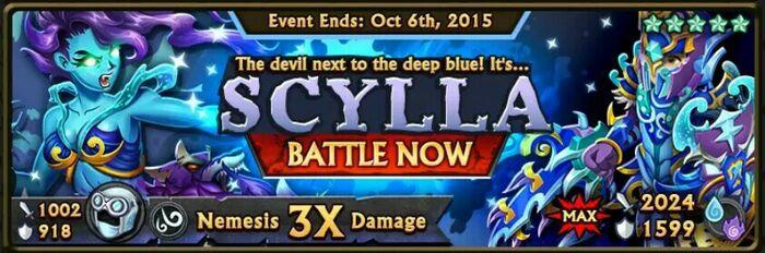 Scylla Banner