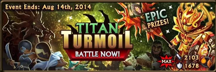 Titan Turmoil Banner