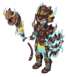 Horrible Wurm Costume