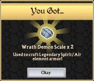 Wrath demon scale x2