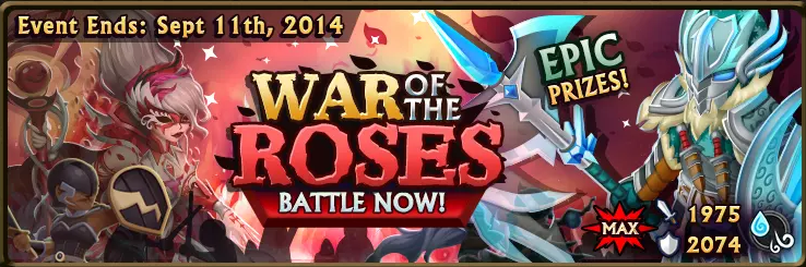 War of the Roses Banner