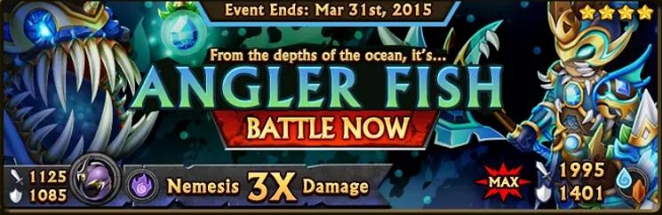 Angler Fish Banner