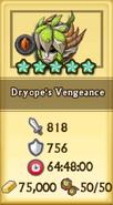 Dryope's Vengeance Crafting Stats