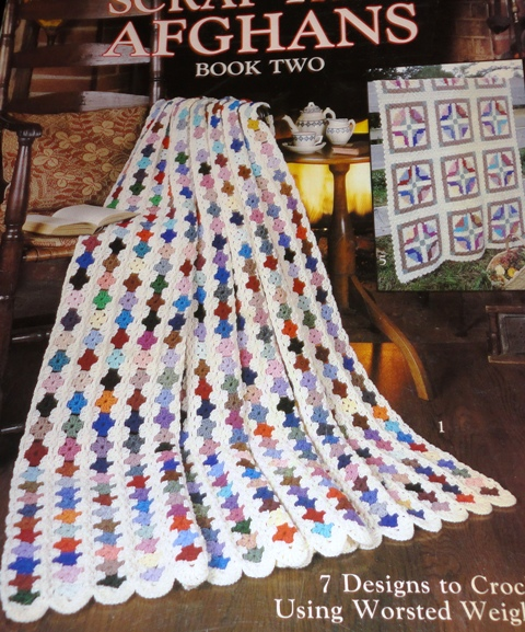 Crochet Patterns For Scrap Yarn Afghan : Leisure Arts 2159 Scrap Yarn Afghans Book 2 Knitting and ...