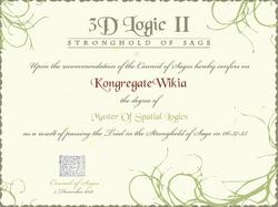 3DLogic2Certificate