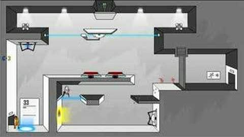 Portal- The Flash Version Walkthrough Levels 31-34