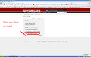 How to stop Kongregate linking to Facebook step 4
