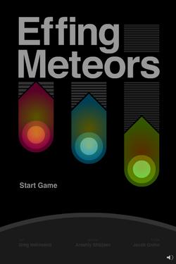 Effing Meteors ms