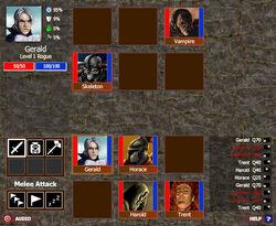 Monsters' Den battle