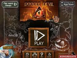 Doodle Devil title screen