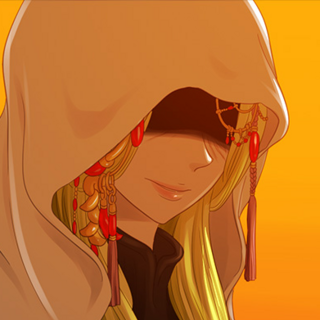 something up her <s>sleeve</s> cloak