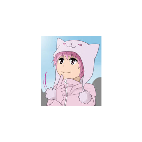 Pink hat bought by Agwen