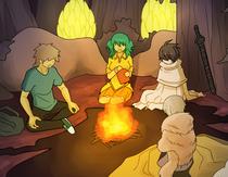 2-1 campfire