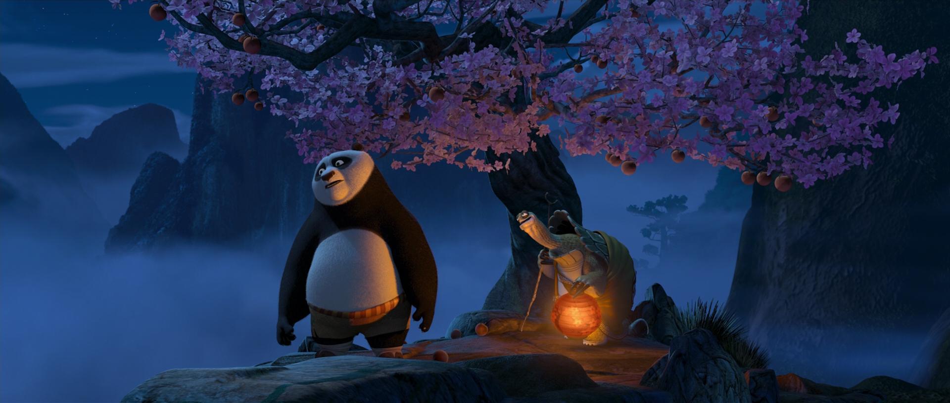 kung fu panda 2 baby po flashback