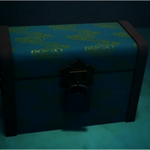 The box where the Shadow Crowns are stored