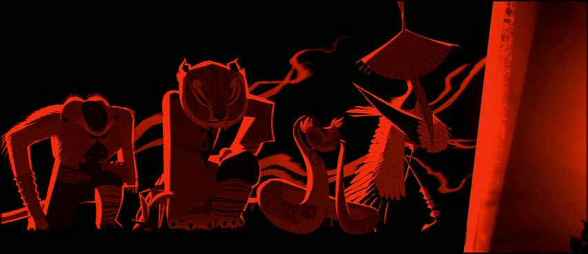 Image Kfp Credits Five Bow Jpg Kung Fu Panda Wiki