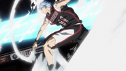 Kuroko uses the Ignite Pass