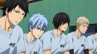 Teiko team's substitutes