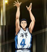Kasamatsu's three pointer