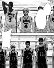 Seirin High vs Shinkyo Academy