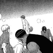 Akashi defeats Hayama, Mibuchi, Nebuya