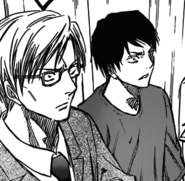 Nijimura and Sanada see Kuroko's misdirection