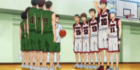 Seirin High vs Tokushin High