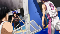 Murasakibara's devastating force