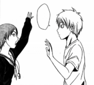 Kuroko introduces himself