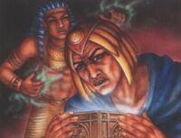 Nepherus discovers the Black Heart