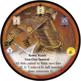 Ikoma Raide-Diskwars
