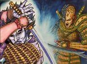 Hitomi dueling Onnotangu