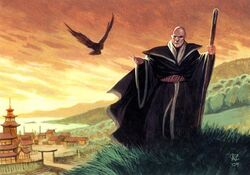 Shinsei and his crow
