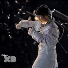 Adam punching an asteroid