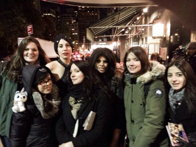 File:11-13-13 With fans in NYC 001.jpg